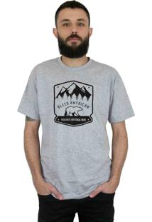 Camiseta Bleed American Yosemite Cinza Mescla