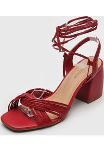 Sandália Bottero Amarração Vermelha