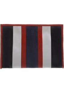 Clutch Amber Stripes Scarlet And Dress Blue | Schutz