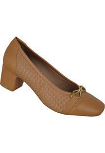 Sapato Fechado Bico Quadrado Ceu E Mar 61565021