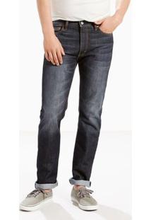 Calça Jeans 513 Slim Straight Fit Levis - Masculino-Azul