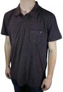 Camisa Polo Billabong Piquet - Masculino-Bordô