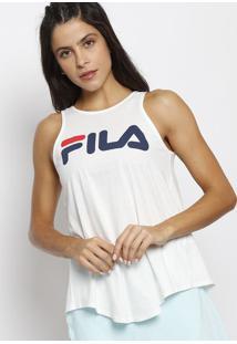 Regata Fila® - Off White & Azul Marinhofila