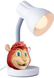 Luminária De Mesa Leão - Startec - Branco