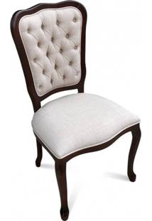Cadeira Inglesa Madeira Maciça Design De Luxo Peça Artesanal