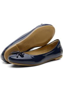 Sapatilha Casual Confort Yes Basic 200 Azul Marinho - Kanui