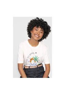 Camiseta Cantão Ilha Rosa
