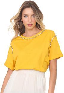 Camiseta Dimy Pedraria Amarela
