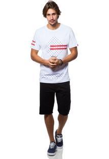 Camiseta Asphalt Red Montain - Masculino