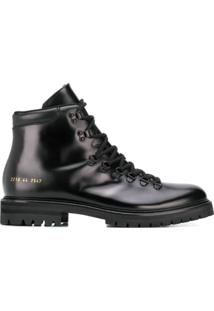 Common Projects Lace-Up Ankle Boots - Preto