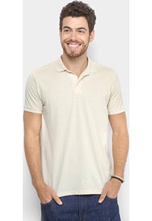 Camisa Polo Reserva Básica Masculina - Masculino-Off White