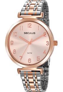 Relógio Seculus Feminino 20872Lpsvgs1