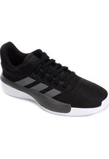 Tênis Adidas Pro Adversary Low 2019 Masculino - Masculino-Branco+Cinza