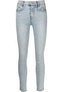 Current/Elliott Calça Jeans Skinny Cintura Média - Azul