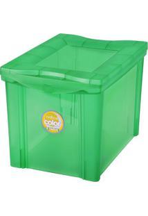 Caixa Organizadora Radical- Verde- 30,7X30,5X42,5Cm