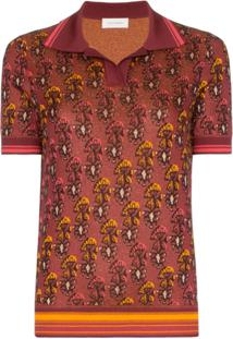b4b55f4f74561 Farfetch. Wales Bonner Camisa Polo ...
