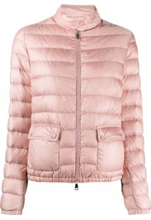 Moncler Quilted Padded Jacket - Rosa