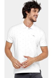 Camisa Polo Ellus Piquet Mini Print Masculina - Masculino