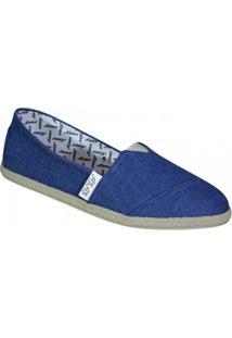 Alpargata Asas 001 - Feminino-Jeans