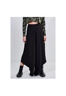 Calça Pantalona Assimétrica
