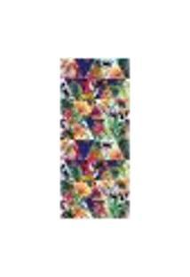 Adesivo Decorativo De Porta - Flores - 1279Cnpt