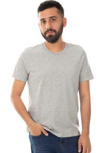 Camiseta Básica Cinza Habana