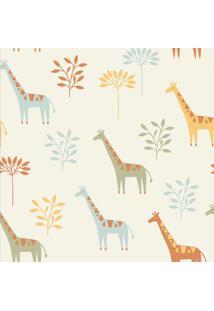 Papel De Parede Stickdecor Adesivo Infantil Girafa