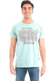 Camiseta Old School Coca-Cola - Masculino