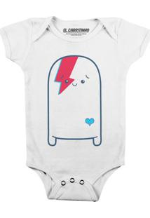 Cuti Bowie - Body Infantil