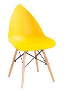 Cadeira Pingo Falkk Fl-001 Amarelo