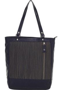Bolsa Couro Smartbag Tiracolo Dark Blue Smartbag - 74062