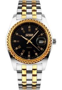 Relógio Skmei Analógico 9098 Preto