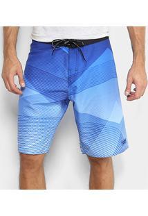 Bermuda D'Água Calvin Klein Listras Degrade Masculina - Masculino