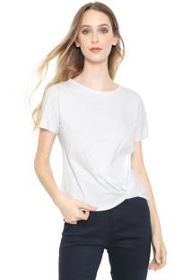 Camiseta Calvin Klein Pérolas Branca