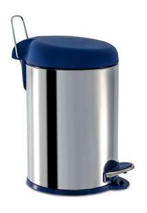 Lixeira Brinox Decorline Com Pedal Em Aço Inox – 5 L