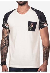Camiseta Hermoso Compadre Raglan Algodão Masculina - Masculino