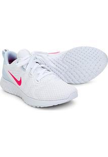 Tênis Nike Legend React Feminino - Feminino-Branco+Pink