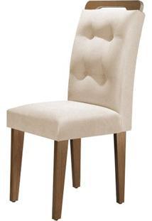 Cadeira Imperatriz 2 Peças - Imbuia Com Tecido Turim 07