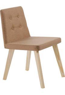 Cadeira Caqui F57-1 Linhão – Daf Mobiliário - Mostarda