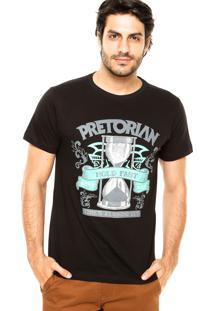 Camiseta Pretorian Hold Fast Preta