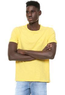 Camiseta Hering Slim Amarela
