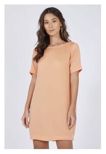 Vestido T-Shirt Rose Pessego