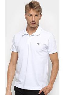 Camisa Polo Triton Básica Masculina - Masculino-Branco