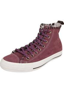 Tênis Converse All Star Ct As Leather Hi Roxo