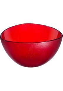 Cremeira Triangular 250 Ml Vermelho Transparente Coza