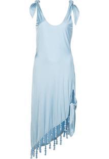 Cult Gaia Vestido Reto Delilah - Azul