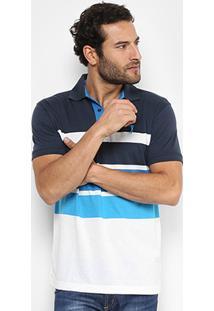 Camisa Polo Aleatory Malha Fio Tinto - Masculino
