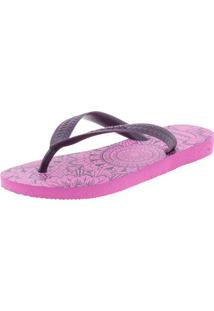Chinelo Feminino Color Mandala Havaianas - 4141485 Pink 33/34