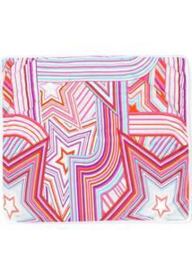 Emilio Pucci Junior Cobertor Com Estampa De Estrela - Rosa