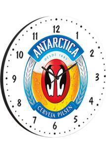Relógio De Parede Antarctica Branco